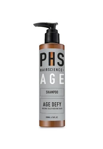 PHS HAIRSCIENCE [For Aging Scalp/Grey Hair] AGE-Defying Shampoo 200ml 6C31ABEBC77753GS_1