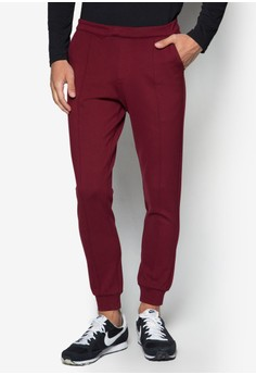 Cn - Stretch Pants With Zip Pocket Detail