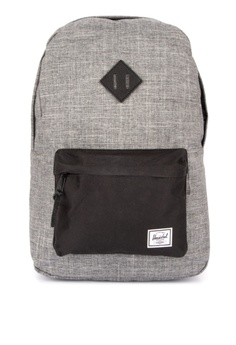 00dd52d1b522 Herschel grey Heritage Backpack CAC75AC7087C9CGS 1