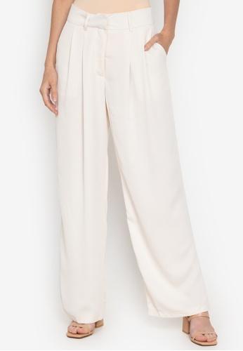 the___edit beige Amalia Trousers BDAD1AA2B00176GS_1