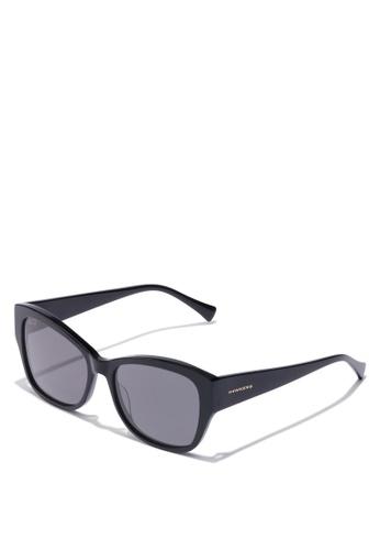Hawkers black Black BHANU Sunglasses FAC06GLFF393DAGS_1