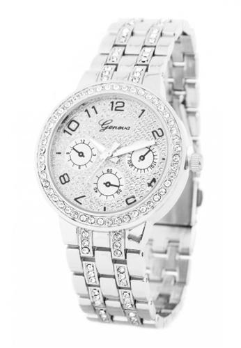 World of Watches silver Geneva Marie Women's Stainless Steel Strap Watch BUS028 WO566AC95JHOPH_1