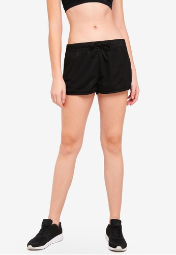 Cotton On Body black Mesh Jersey Jogging Shorts 6D540AAEECBF7FGS_1