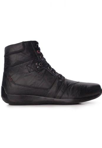 Gino Mariani black Gino Mariani Men's Leather Shoes ELARIO 6 - BLACK 52B70SH391D583GS_1