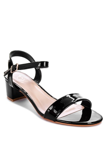 ABOUT A GIRL black Strappy Block Heels 445ECSHE0CE22DGS_1