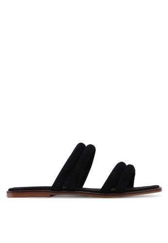 TOPSHOP 黑色 Fever Strappy Sandals DD3D3SH5A9CFBFGS_1