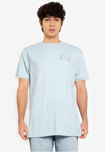 Springfield blue Surf T-Shirt DB032AA9F47734GS_1