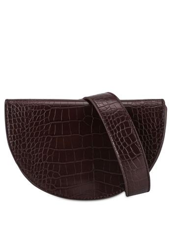 Rubi brown Georgie Crossbody Bag 03083AC534934DGS_1