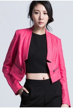Missy Trendsetter Cropped Jacket