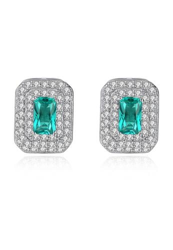 SUNRAIS silver High-end Silver S925 silver fashion earrings ADF2BAC45721A9GS_1