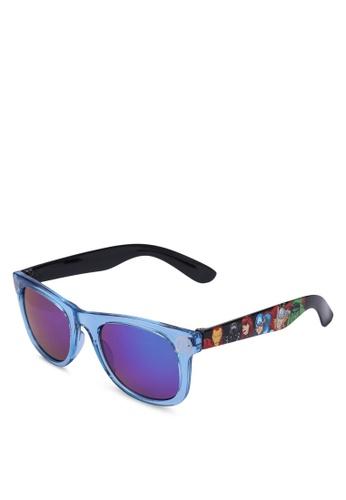 H&M blue and multi Sunglasses 6A167KC5A8AA0DGS_1