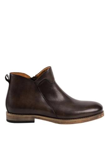 Twenty Eight Shoes Vintage Leather Chelsea Boot 618-20 E77EBSH72F81E4GS_1