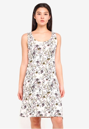 ICHI beige Lisa Dress 90B1DAAA2F1DE2GS_1