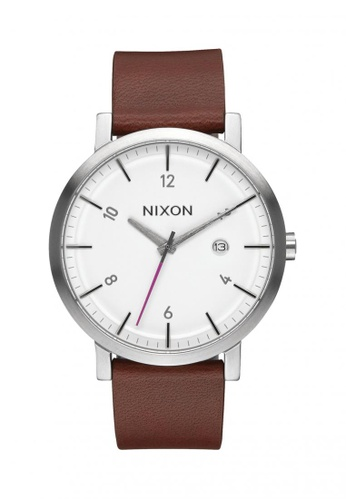Nixon white and brown Nixon - Rollo - White/Chestnut NI855AC57OHQSG_1
