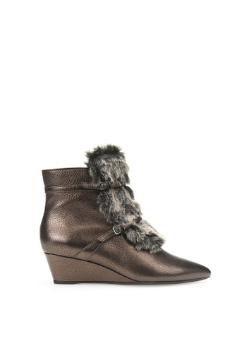 Geox brown Jaunie Ankle Boots C4EBESH40FF4B0GS_1