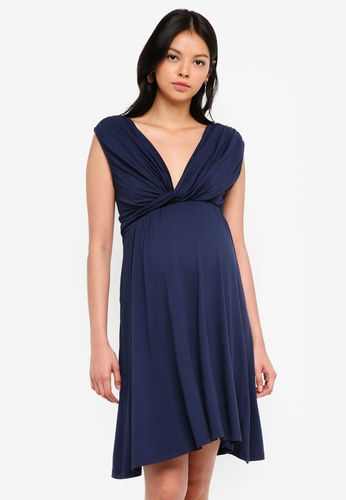 Envie De Fraise navy Maternity Amanda Tank Dress DFCF3AA449AAC8GS_1
