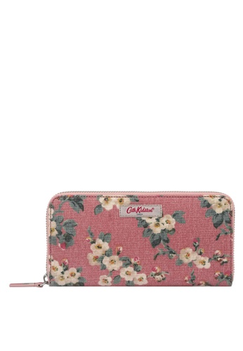 Cath Kidston pink Mayfield Blossom Continental Zip Wallet 2E432ACA872F63GS_1