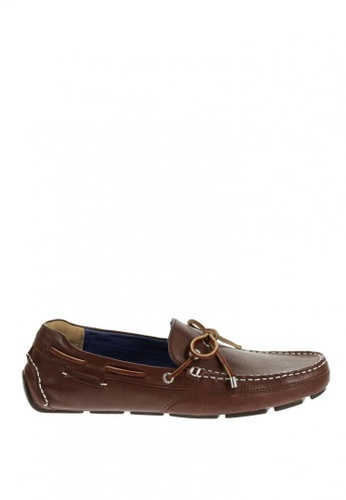 Sebago brown Mens Kedge Tie Driving Shoes SE328SH64JUPPH_1