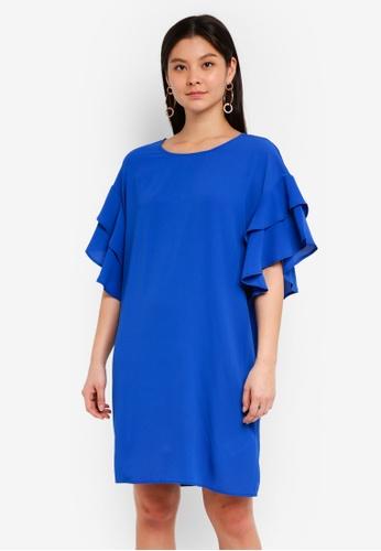 Y.A.S blue Dysta Dress D2C4AAA1E1EE9EGS_1