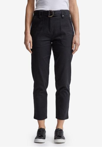 Dorothy Perkins black Black Utility Trousers 7BA94AAEB75D9AGS_1