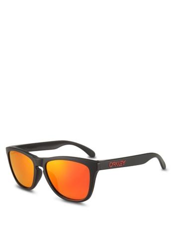 Oakley black Performance Lifestyle OO9245 Sunglasses FEDD4GLAD68205GS_1