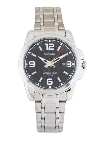 esprit outlet 香港LTP-1314D-1AVDF 不銹鋼圓錶, 錶類, 不銹鋼錶帶