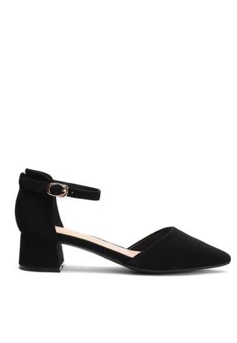 Twenty Eight Shoes 黑色 尖頭小踭鞋166-8 8386DSHB39A7F0GS_1