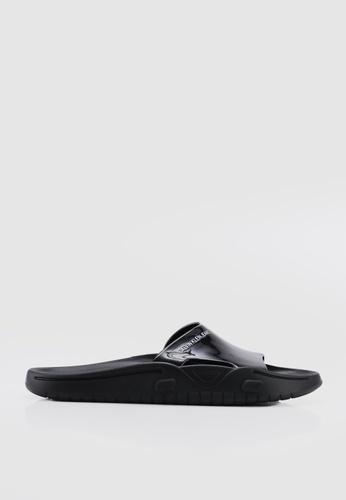Calvin Klein 黑色 LOGO涼鞋 E1D9ASH4348AA4GS_1