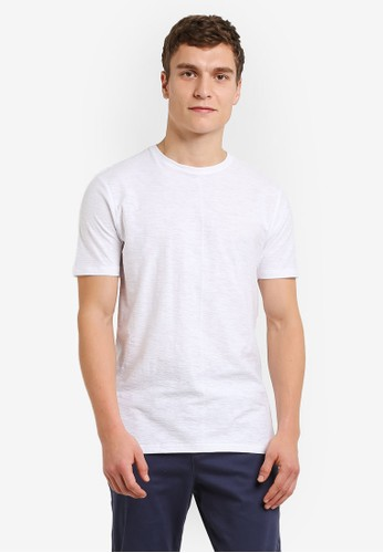 Factorie white Shaded Legacy Crew T-Shirt FA113AA0URSLID_1