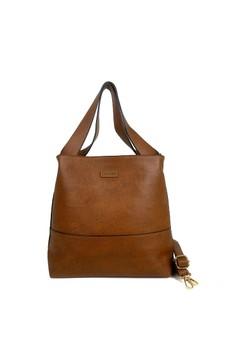 Ceviro Celloz Shoulder Bag BrownStone