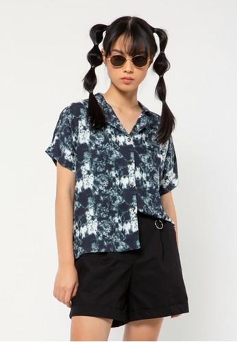 COLORBOX white Notch Collar Shirt 1B125AAB7C72C0GS_1