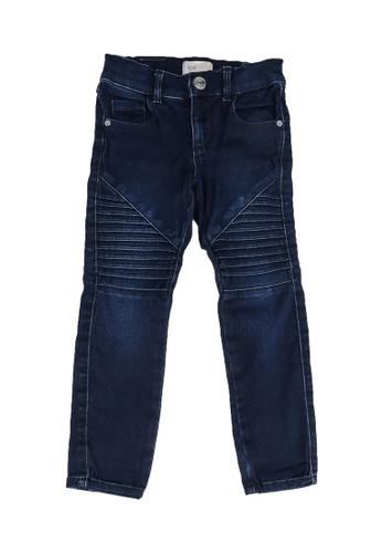 ONLY blue Konroyal Biker Jeans 8F6AFKAE890974GS_1