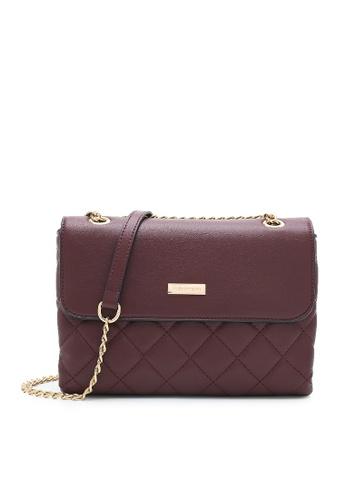 Volkswagen red Women's Sling Bag / Shoulder Bag / Crossbody Bag C1C10AC074782CGS_1