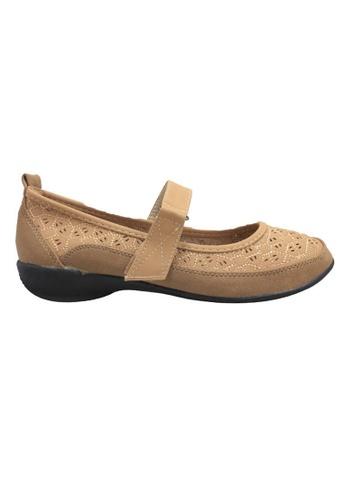 midzone brown Comfortable Women Loafer MI949SH79LJGMY_1