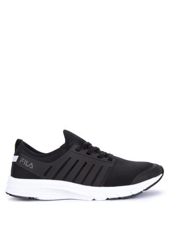 Fila black Smart Lite Running Shoes 5CE42SH381C7ADGS_1