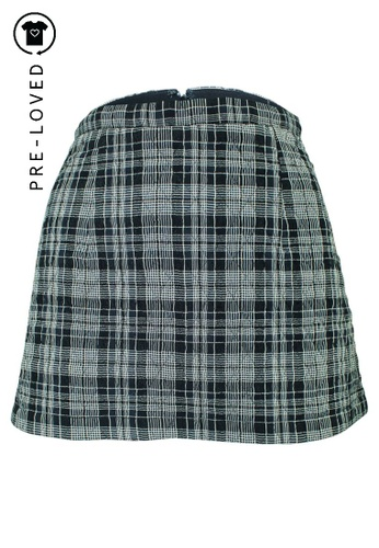 Reformation black Pre-Loved reformation Shelby Skirt 32379AAC0C1210GS_1