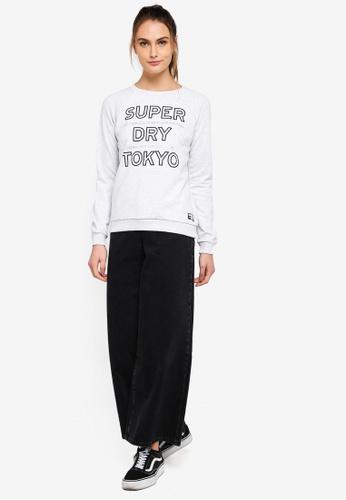 Buy Superdry Lis Rhinestone Crew Sweatshirt Online  4afe62c857e