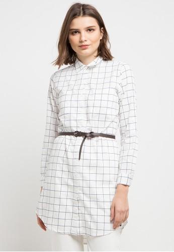 X8 white Eliana Shirts 3304FAA9EBC2D6GS_1