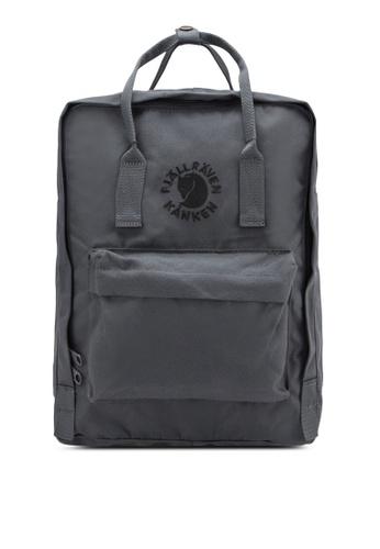 Fjallraven Kanken grey Slate Re-Kanken Backpack FJ382AC97ZNEMY_1