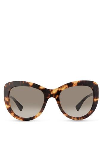 Pop Chesprit 澳門ic Medusa 貓眼粗框太陽眼鏡, 飾品配件, 飾品配件