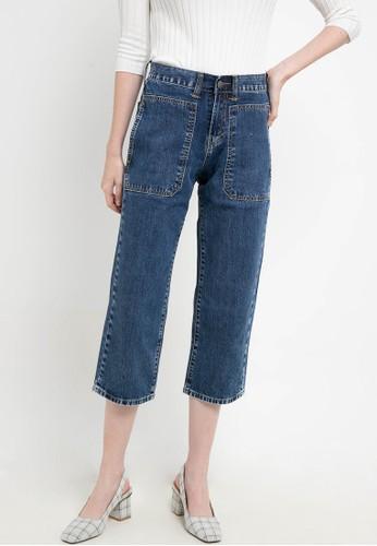 Lois Jeans blue High Waist Straight Denim Pant FTC288 4541EAAFC32E5EGS_1