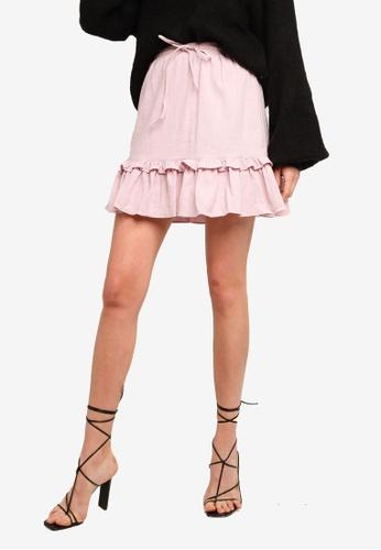 Sável pink Belmont Skirt ADF00AAC1CA2BBGS_1
