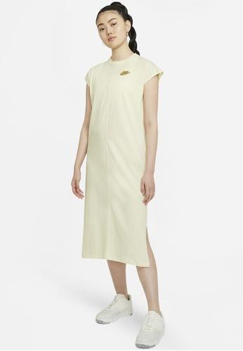 Nike yellow Earth Day Dress 860E3AA8A57599GS_1