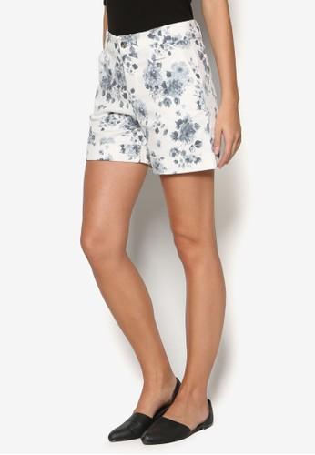 Azure 印花短褲, 服飾, 短esprit暢貨中心褲