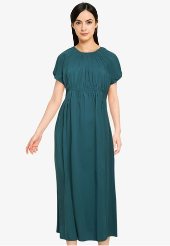 LOWRYS FARM green WOMEN WOVEN ONE PIECE 58252AACCEF19AGS_1
