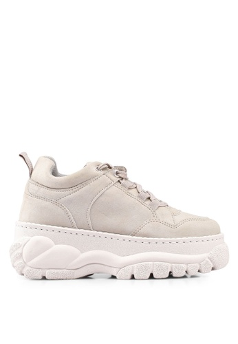 TOPSHOP beige Cairo Chunky Trainers FABE8SH0B93EB7GS_1