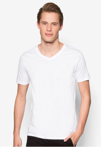 Factorie white The Legacy Vee Tee FA880AA33WFYMY_1