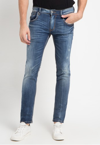 X8 blue Jaquan Jeans X8323AA0U44AID_1