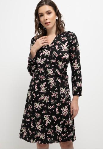 LOLINI black Poppy Dress 5EC4DAA18527C2GS_1