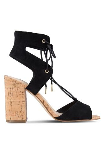 Guess black Guess Lace Up Heels GU020SH87YCQMY_1